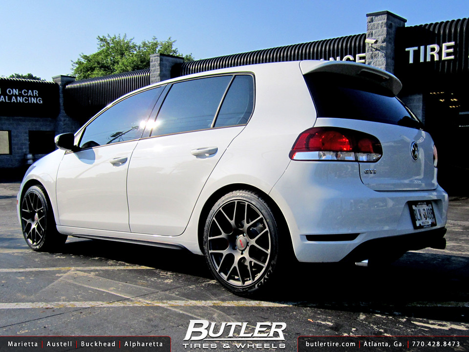 vw golf gti with 18in tsw nurburgring wheels a photo on. Black Bedroom Furniture Sets. Home Design Ideas