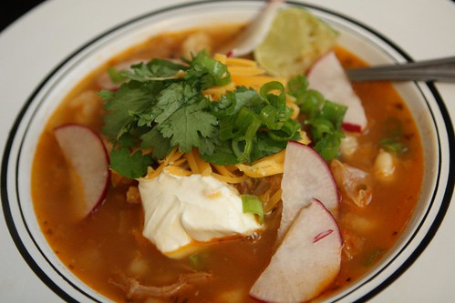 Posole (Post-Condiment)