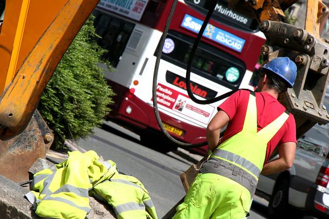 Construction in Edinburgh