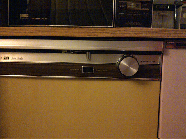 1974 FRIGIDAIRE Custom Deluxe dishwasher