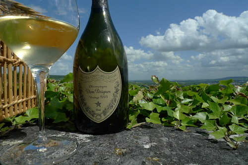 Dom Perignon 2003 at the Abbey of Hautvillers