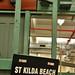 st kilda beach sign