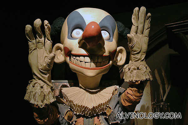 Scary clown - anyone can ID what or who this is?