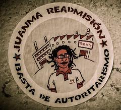 Readmissió Juanma a @SEATjobs #salonauto #autoexplotación #SEAT