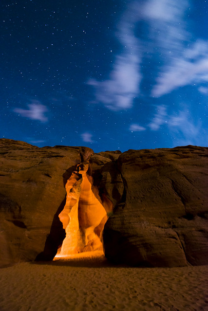 Antelope Canyon at Night (4 of 4)