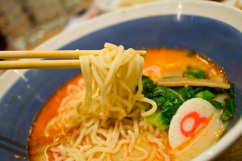Spicy Ramen :: Hachiban Ramen