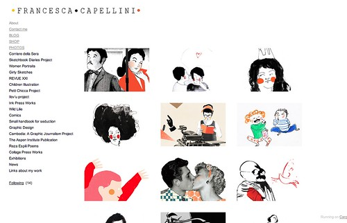 Updated Web Site by la casa a pois