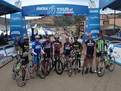 Amgen TOC Stage 5 Finish Line