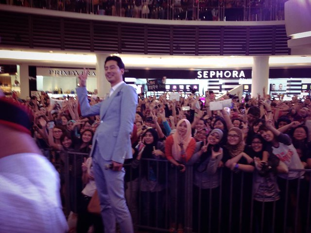 Jo In Sung / Zo In Sung Paradigm Mall KL 2013