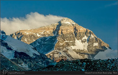 Mount Everest from Basecamp, Tibet