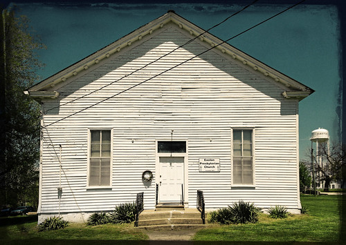 usa streets tower church water clouds canon town spring shadows unitedstates ghost memories rusty roadtrip lap missouri handpainted ghosts years roads roadside rider crusty clapboard relics presbyterian easton ghostrider rustbelt vast 6d windingroad 1867 2013 fotoedge canon6d bobtravaglione
