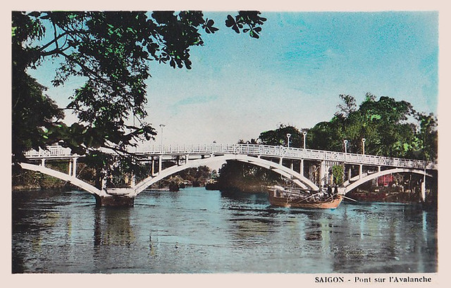 Le Pont sur l' Avalanche à SAÏGON