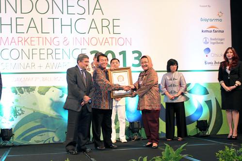 Indonesia Health Care Marketing & Innovation Conference 2013 – Erha Clinic (Jabodetabek).