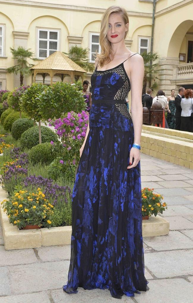 4 Eva Riccobono in Roberto Cavalli@ Life Ball 2013 Gala Dinner