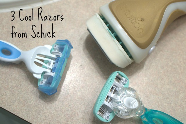 3 Cool Razors from Schick