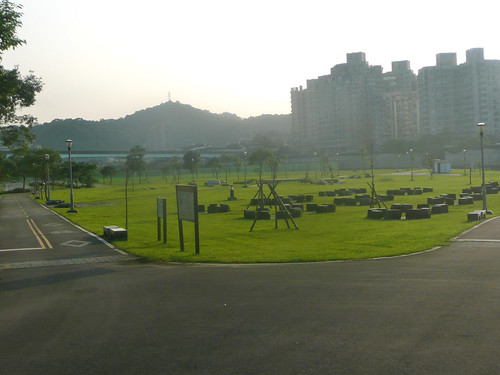 Riverside Park Opposite the Taipei Zoo