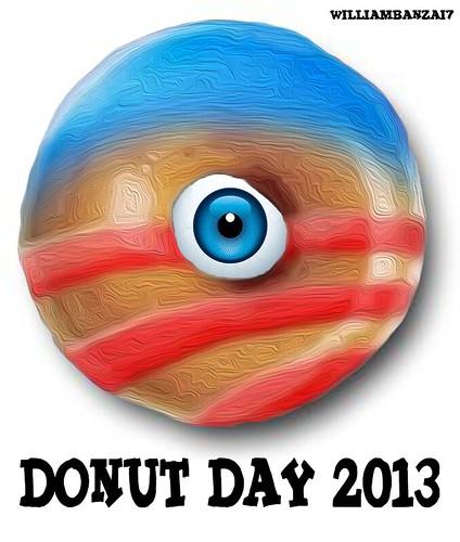 DONUT DAY 2013 by WilliamBanzai7/Colonel Flick