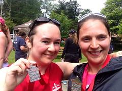 Half marathon finishers!