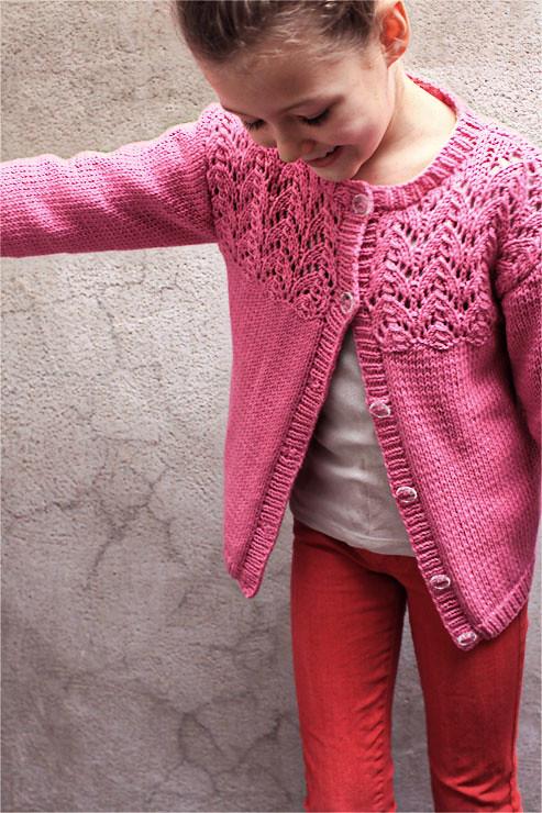 Pink Cardigan #2