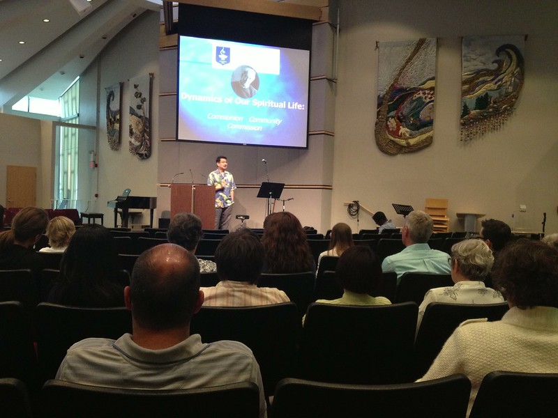 Dynamics of Our Spiritual Life Chapel Devotional Talk � June 11, 11:30 am � 12:15 pm