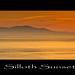 Silloth Sunset. by Julian Scott Photography