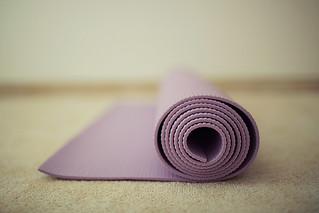 My new yoga mat.