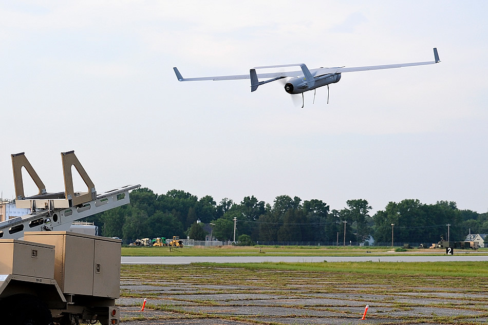 US RQ-21A Launch for its first flight