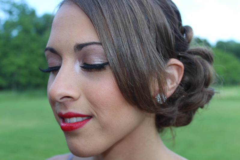 Living After Midnite: Jackie Giardina: Prom Makeup: Red Lips