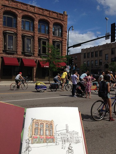 20130623 Open Streets MPLS sketching