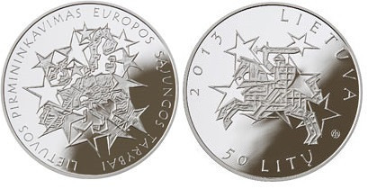 Lithuania 50 Litu coin