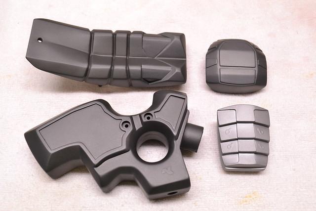 Single-coat parts