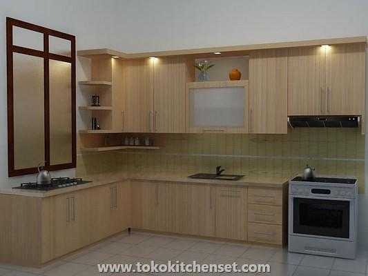 Contoh desain toko kitchen settoko kitchen set for Toko kitchen set