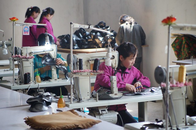 Rason Shoe Factory North Korea