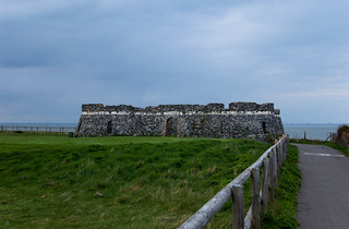 Ancienne fortification à Kingsgate Bay