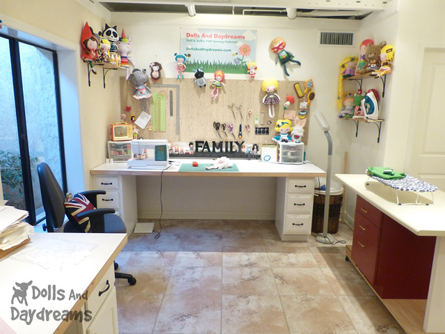 Sewing Room Make Over DIY Dolls And Daydreams 2A