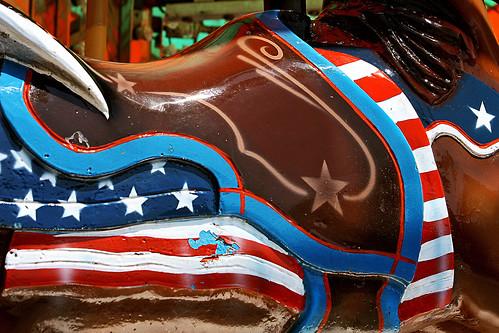 Patriotic pony