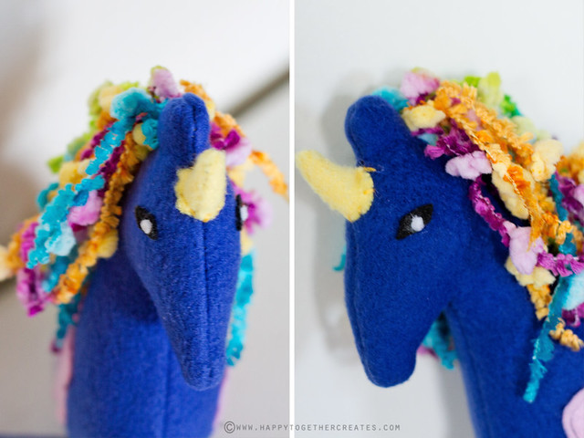 Designed and Made by J: Cotton Candy the Unicorn