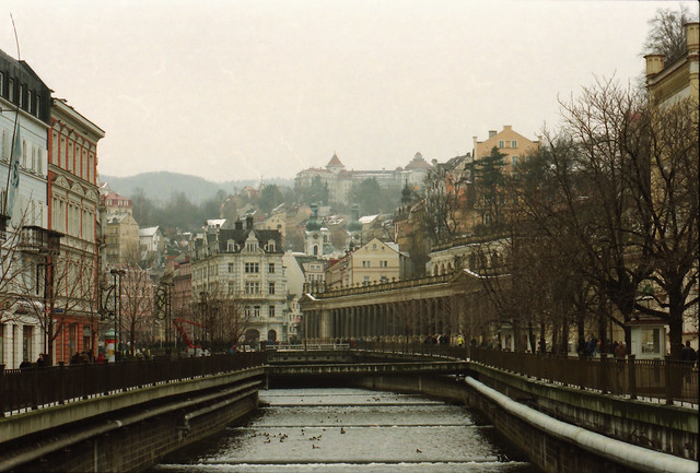 Karlovy Vary spa city Western Bohemia Czech Republic 1998 049
