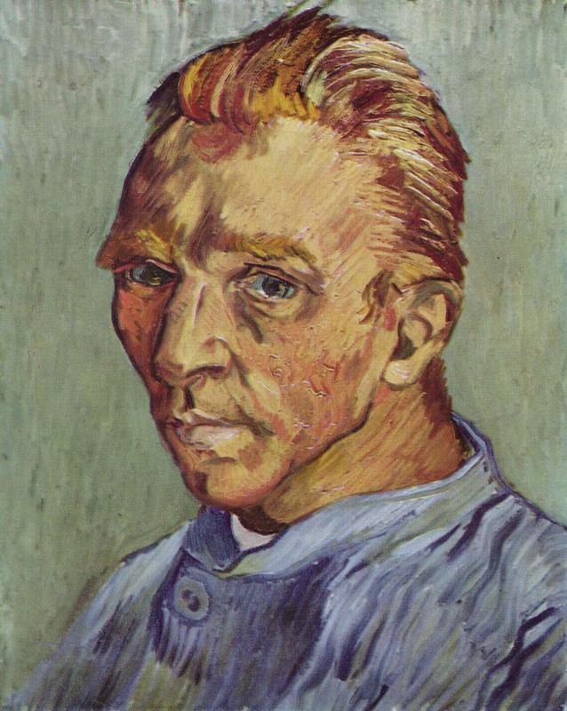 Portrait de l'artiste sans barbe