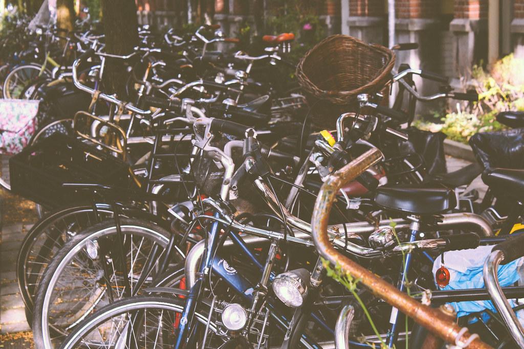 Bikes on bikes on bikes