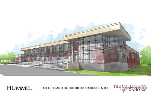 Athletic and Outdoor Education Center (North view)