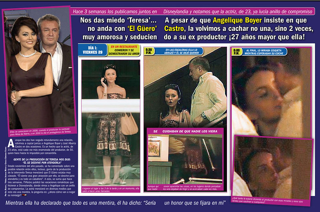 Angelique-Boyer-y-al-Guero-Castro-de-romance   Flickr - Photo Sharing!