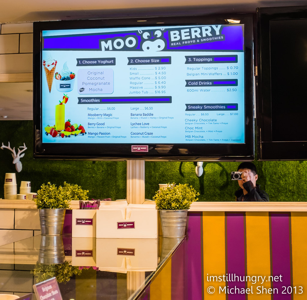 MooBerry menu
