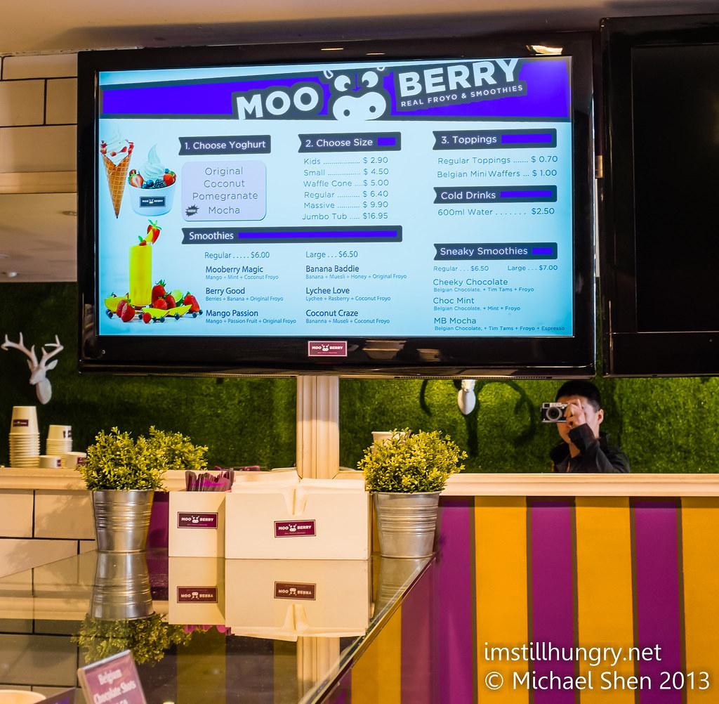 MooBerry menu