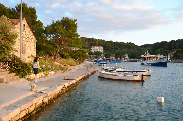 Sunset stroll, Mljet, Croatia