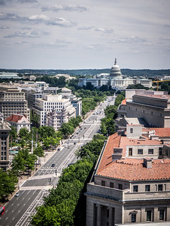 Pennsylvania Avenue from Old Post Office Tower