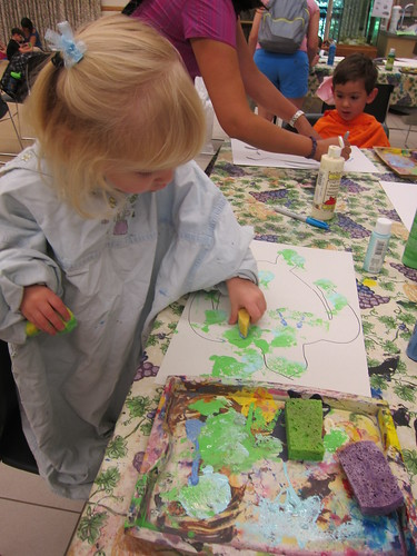 Painting at Nature Tykes
