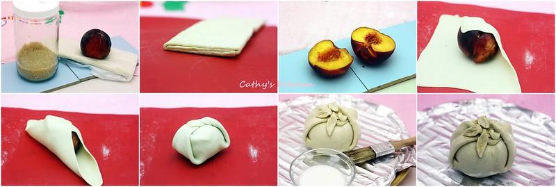 蜜桃酥烤包 Peach Dumpling 6.1