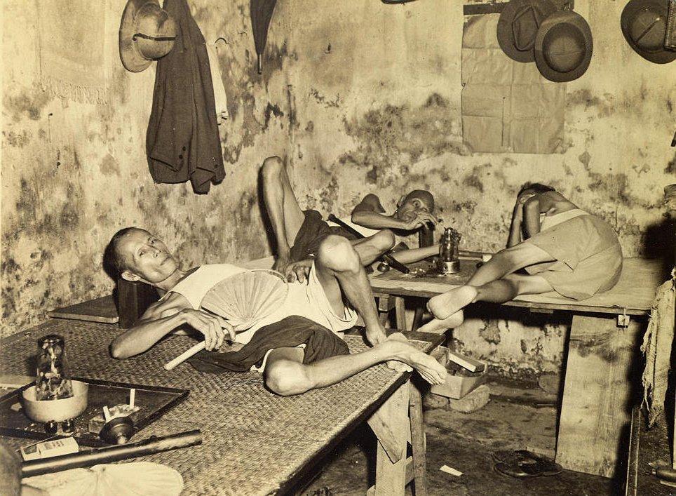 opium den Chinatown Calcutta