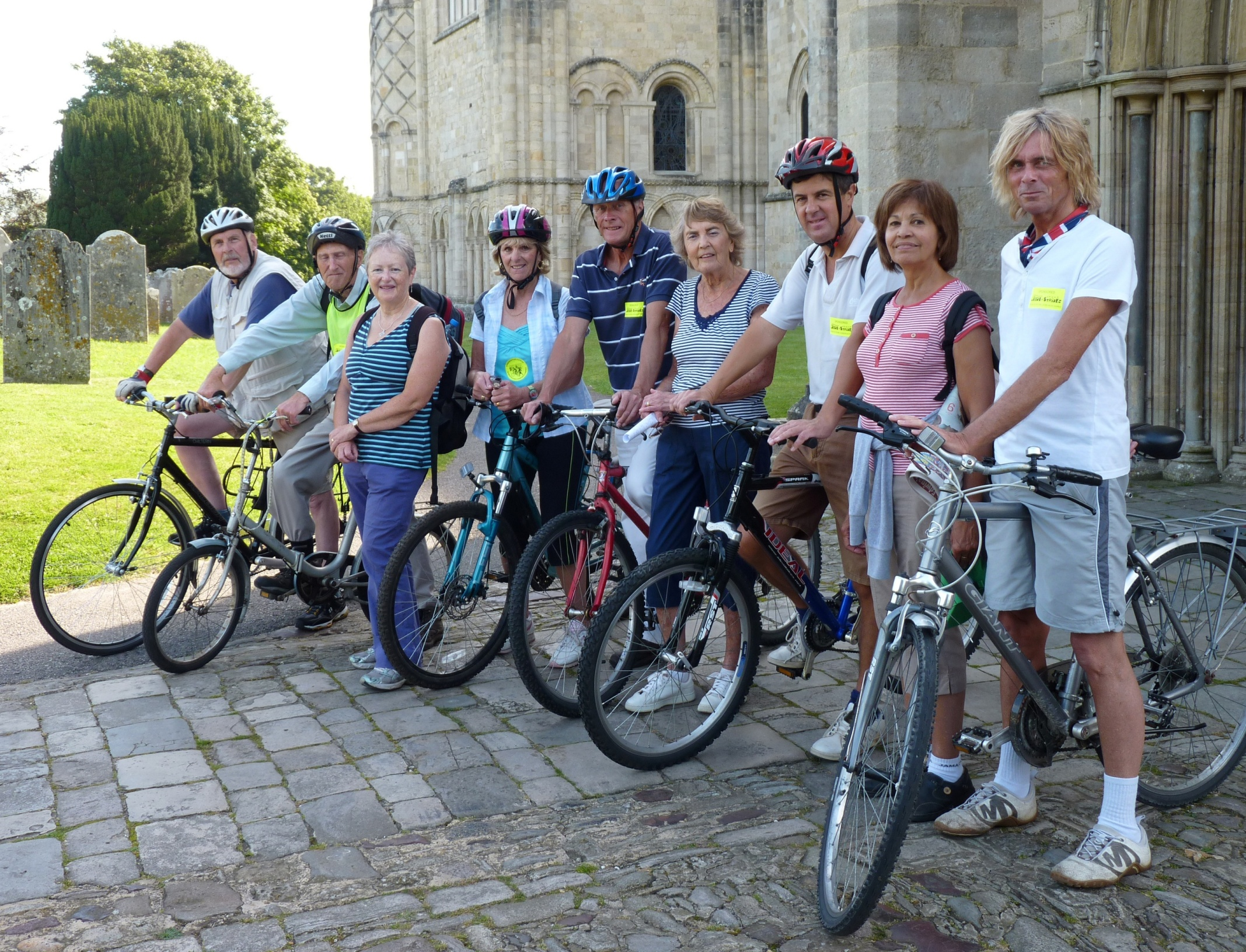 Christchurch Priory ride + stride team 2012